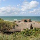 Ausblick aus dem Bunker