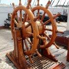 Fregatte Jylland Steuerrad
