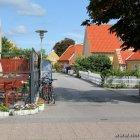 Seitenstrasse in Skagen