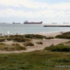 Auflieger vor der Küste von Dänemark / Skagen
