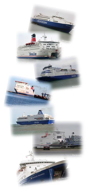 Fähren Collage